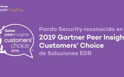 Panda Security, premiada en en los Gartner Peer Insights Customer's Choice para soluciones EDR