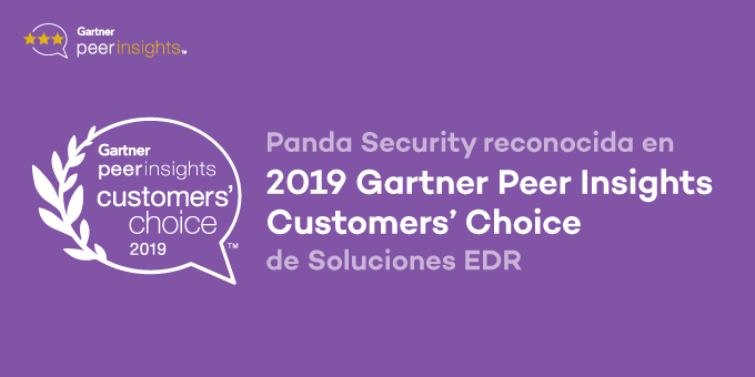 Panda Security, premiada en en los Gartner Peer Insights Customer's Choice para soluciones EDR